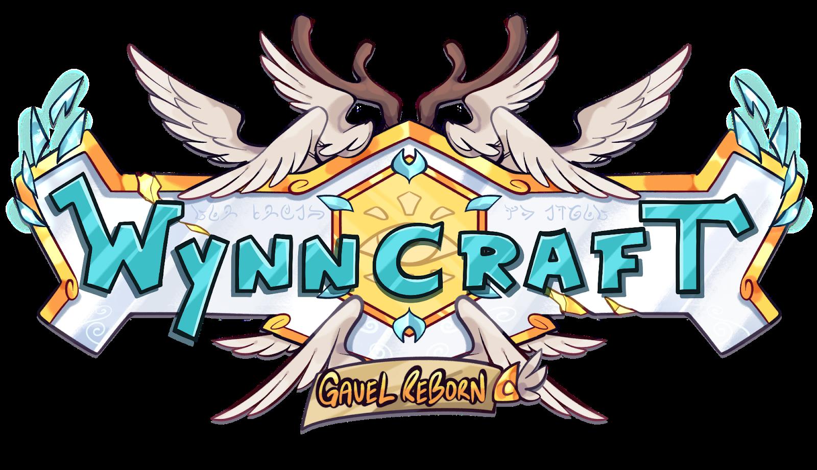 Wynncraft Gavel Reborn Logo